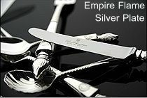 Empire Flame - Silver Plate