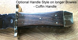 Coffin Style Handle
