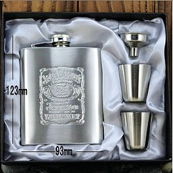 Jack Daniels Hip Flask-Sizing