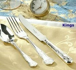 King Silver plated cutlery